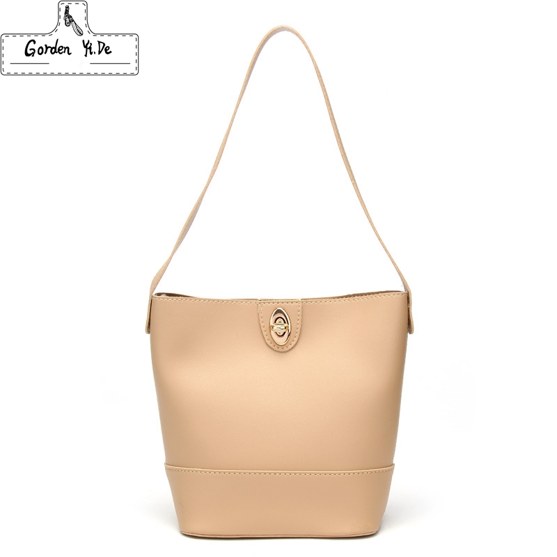 Shop For Cheap Fashion Bucket Bag For Women 2019 Vintage Pu Leather Handbagselegant Messenger Totes 6 Colors Beach Bag Extremely Efficient In Preserving Heat Women's Bags Shoulder Bags
