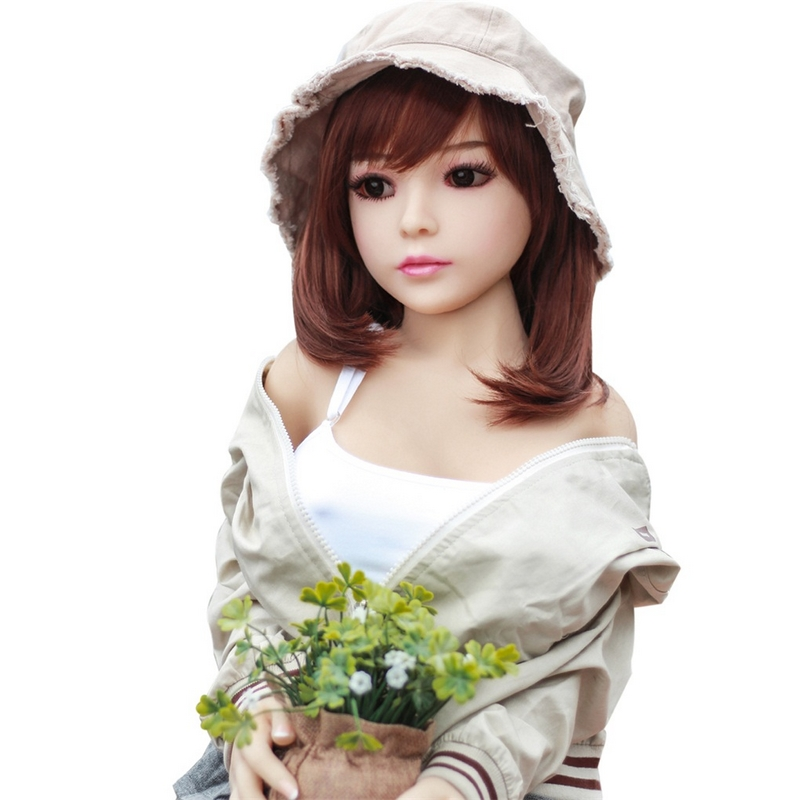 100cm Full Size Silicone TPE Love Doll with Metal Skeleton Sex Dolls Japanese Big Breast Oral Lifelike Doll Vagina Real Pussy