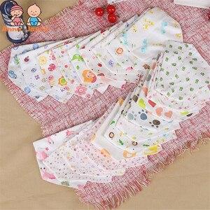 Image 4 - 20 teil/los Baby Lätzchen 100% Baumwolle Dreieck Kopf Schal Junge Kopftuch Mädchen Babador Bandana Dribbeln Bib