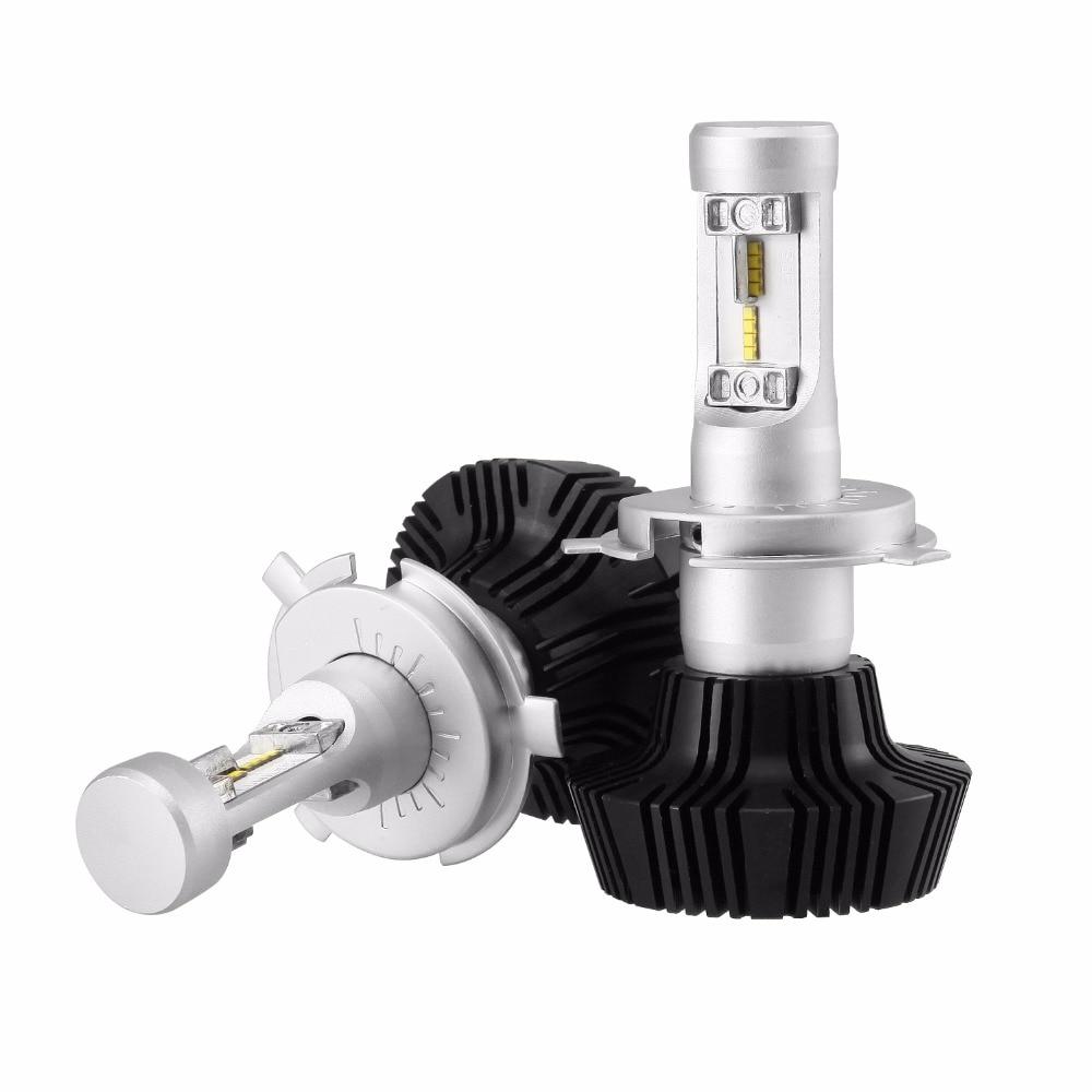 1PAIR 7H Series H4 50W LED HEADLIGHT BULB 8000LM 6500K WHITE CAR AUTO 12V 24V HEADLAMP LIGHT HI-LOW BEAM WITH LED DRIVER 2pcs h4 h7 h11 h1 h13 h3 9004 9005 9006 9007 9012 cob led car headlight bulb hi lo beam 72w 8000lm 6500k auto headlamp 12v 24v