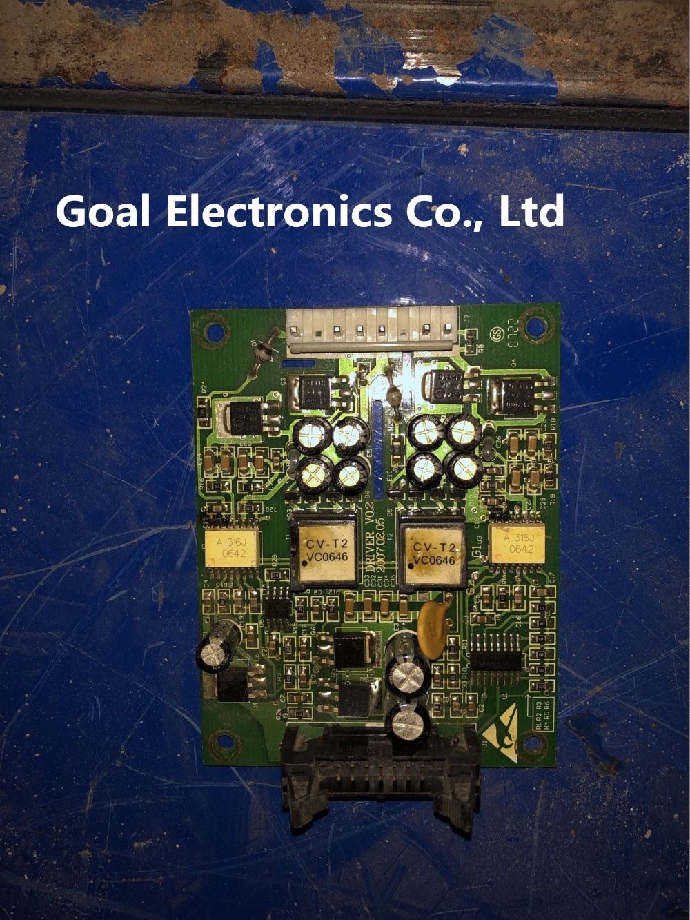 frequency converter g3-p3 series 110-132-160-220kw trigger board DRIVE V0.2frequency converter g3-p3 series 110-132-160-220kw trigger board DRIVE V0.2
