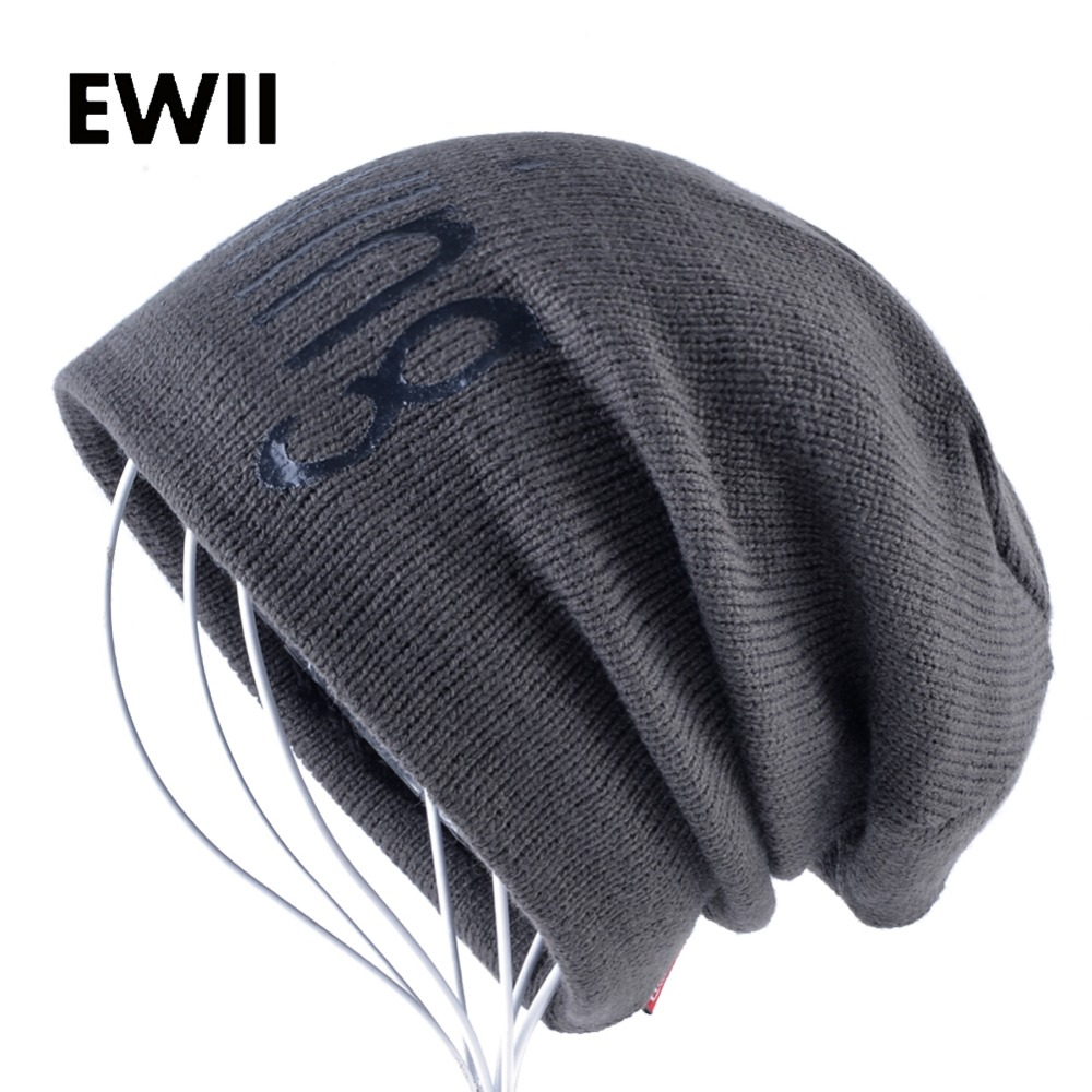 Winter knit beanie hat men skullies beanies for ladies knitted warm caps men casual letter cap women wool hats bonnet gorros men s skullies winter gorros ski wool warm knitted cap beanie headgear hat nap skullies bonnet beanies cap hats for women gorro
