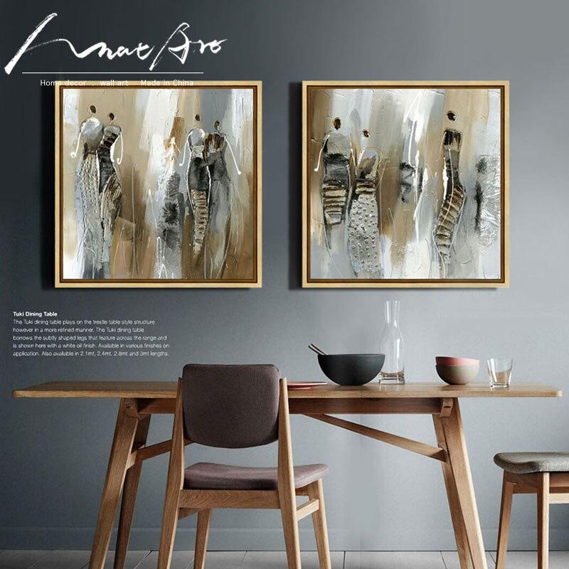 5 91 Peinture Toile Imprime Abstrait Moderne Femme Africaine Brun Mur Art Pas Cher Moderne Peintures Toile Photos Pour Salon In Peinture Et