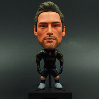 KODOTO SoccerWe Juventus Away Claudio Marchisio Football Soccer Moveable Star Collection Dolls Toy Figures