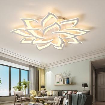 Nowy led żyrandol do salonu sypialni domu lustre para sala AC85-265V nowoczesne Led żyrandol podsufitowy lampy lustre