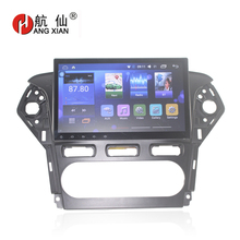 """Bway 10,2 """"Car Радио стерео для Ford Mondeo 2011-2012 Quadcore Android 6.0.1 car dvd gps плеер с 1 г Оперативная память, 16 г iNand"""