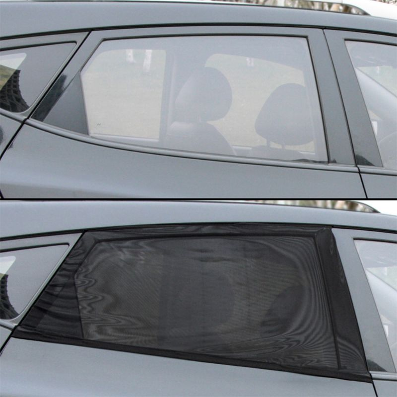 Image 3 - New Block mosquitoes Sun Shade Sox Universal Fit Baby Rear Large Car Side Window Sun Shades Travel for Car, 1 pair qyh-in Side Window Sunshades from Automobiles & Motorcycles