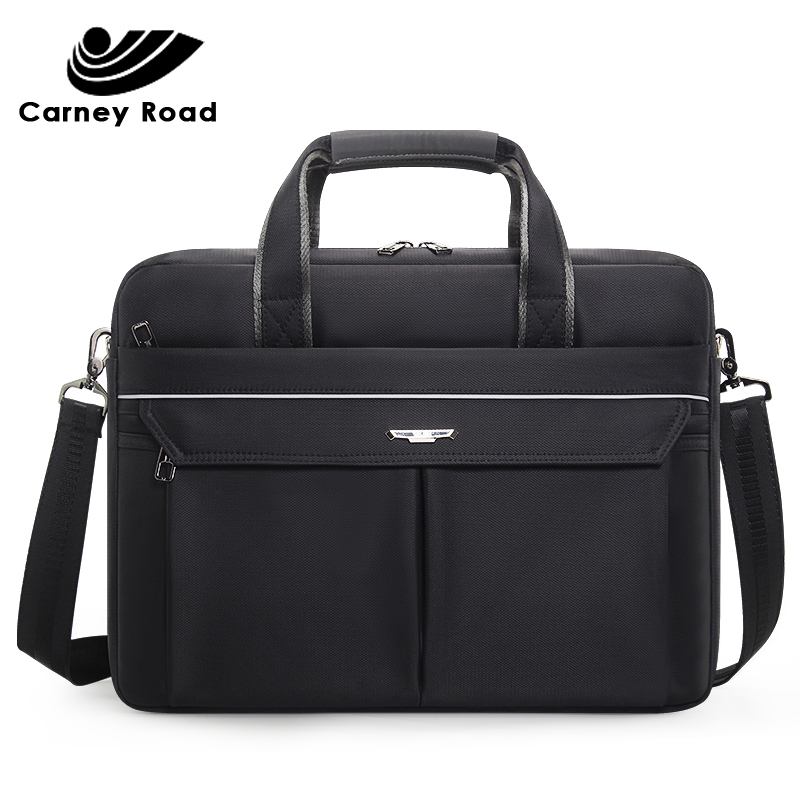 Brand High Quality Business Men Briefcase 15.6 Inch Laptop Handbag Casual Messenger Shoulder Bag Office Document Bag Fashion