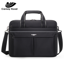 Brand High Quality Business Men Briefcase 15.6 inch Laptop Handbag Casual Messenger Shoulder Bag Office Document Bag Fashion