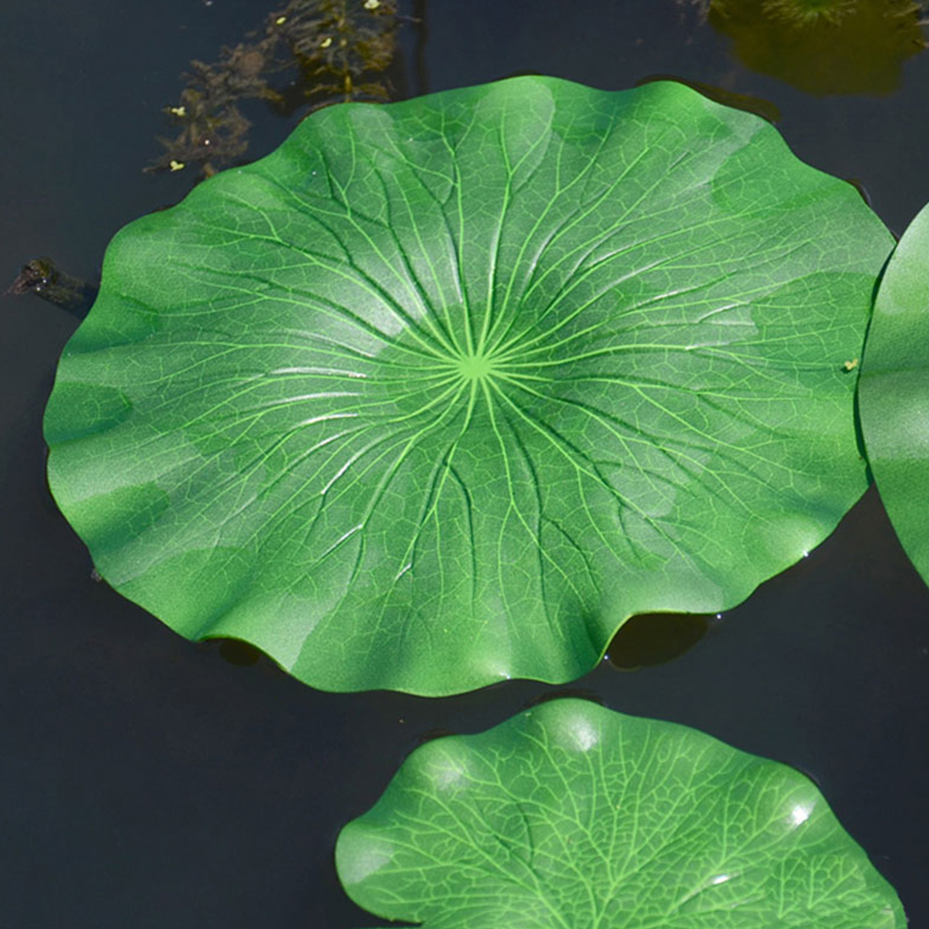 Artificial Lotus Leaf New Artificial Leaf Decorative Floating Foam Lotus Leaf Fake Leaf Pond Party Decor For Aquarium Pool
