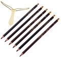 6Pcs New Eyebrow Enhancer 100% Sweatproof &Waterproof Eyebrow Pencil Pen With Clip 6Colors Eye Brow Paint Brand Makeup Cosmetics