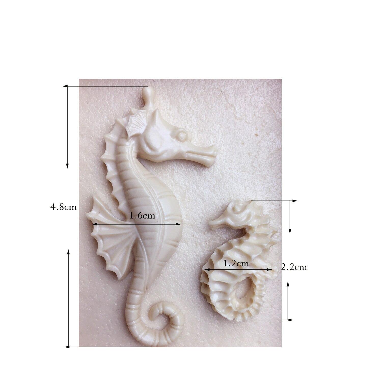 M1007 herramientas de la torta del caballo de mar seahorse molde de - Cocina, comedor y bar - foto 5