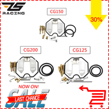 ZS Racing Motorycel Carburetor Repair Kits For PZ26 PZ27 PZ30 With Spare Jets 1 sets One Pack CG125 150 200