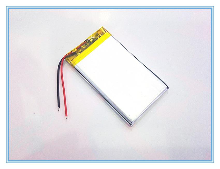 Tasuta kohaletoimetamine 3,7 V liitiumpolümeerpatarei 2200mah 504169 - Tahvelarvutite tarvikud - Foto 1