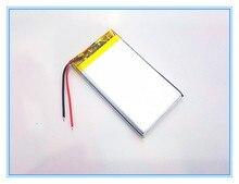 Envío libre 3.7 V batería de polímero de litio 2200 mah 504169 interfono navegador GPS del vehículo viajar registrador de datos