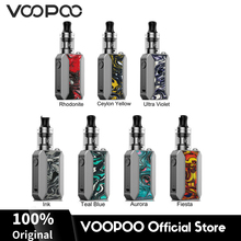 Original VOOPOO Drag Baby Trio Resin Mod Vape Kit 1500mAh Battery w/ 1.8ml Tank PnP Coils  Electronic Cigarette USB Charge