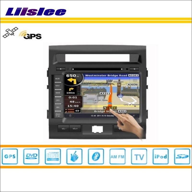 Liislee Car Android Multimedia For Toyota Roraima Land Cruiser LC 200 2008~2013 Radio DVD Player GPS Nav Navigation Audio Video