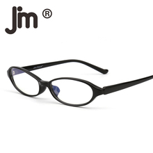 JM Lightweight Plastic Square Spectacles Men Big Computer Glasses Anti Blue Light Eyewear for Improving Comfort