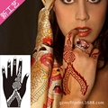 1Pair Hands Tattoo Templates Henna Tattoo Stencils For Airbrushing Professional Mehndi Body Painting Kit Supplies