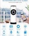 180 Градусов Панорама Fisheye Объектив Камеры WI-FI Ip-камера Ночного Видения Motion Обнаружения Видеокамеры Дистанционного Управления APP P2P Веб-Камера