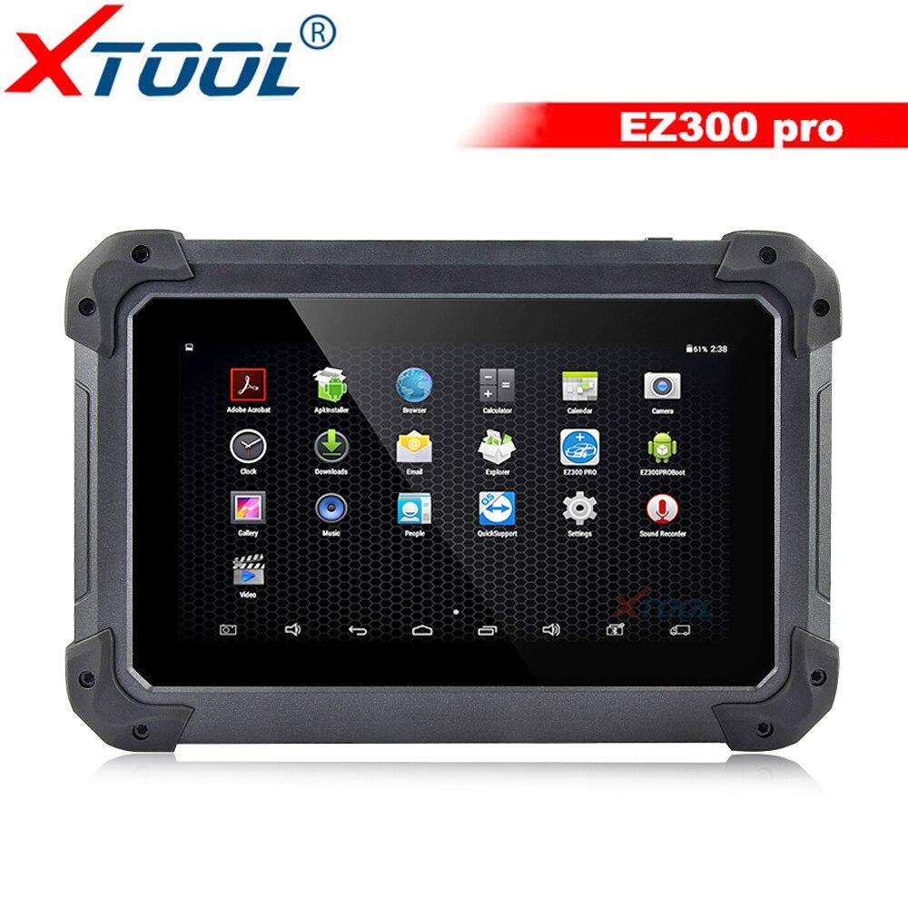 Sistemas de Diagnóstico XTool EZ300 Pro Com 5 Motor, ABS, SRS, óleo de transmissão & TPMS OBD2 Car Diagnóstico Scanner Grátis Online Update