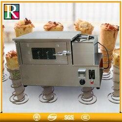 Dostawa fabrycznie ze stali nierdzewnej 220 V 42 kg RE PB1 mini pizza piec do pizzy przenośnik w Roboty kuchenne od AGD na