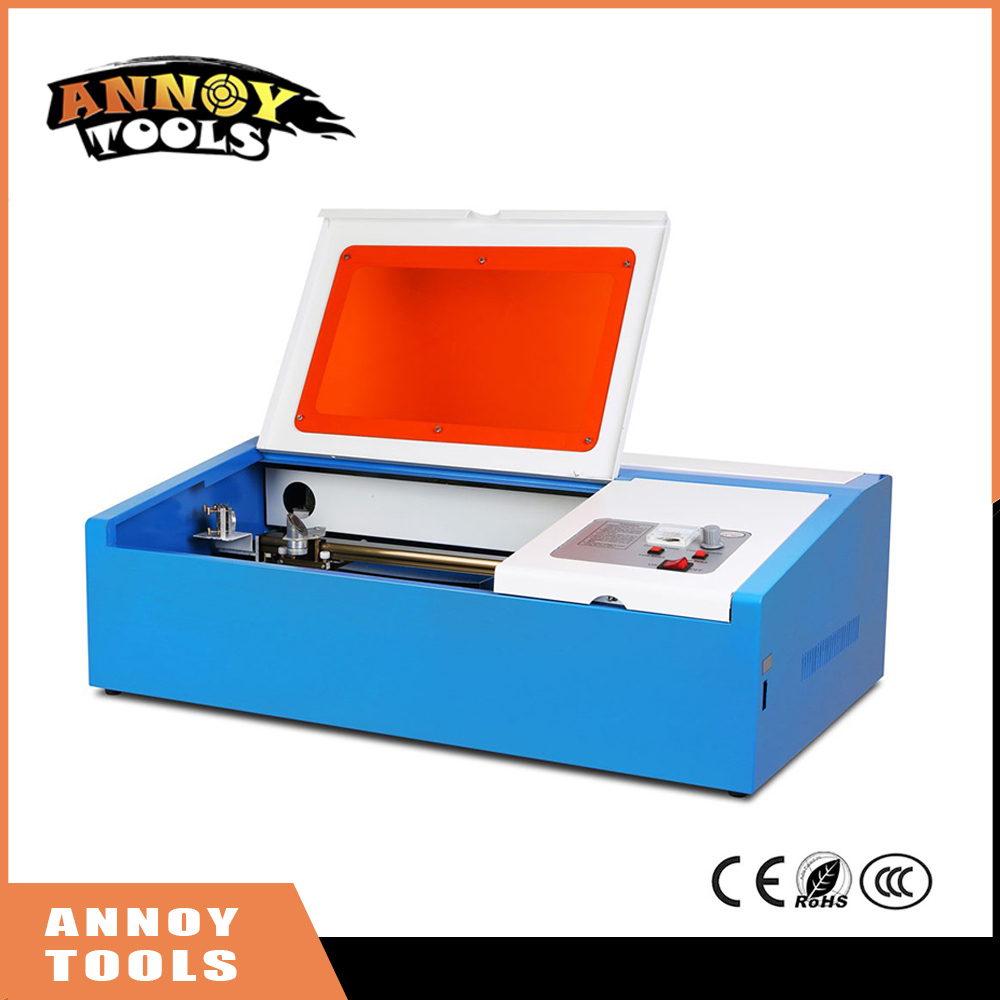 High Quality 110/220V 40W 20*30cm Portable CO2 Laser Engraver Cutter Engraving Machine 3020 Laser Cutting Machine with USB Sport laser head raf3023 raf3024 3022 3020