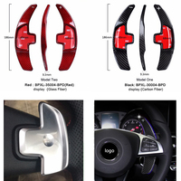 TTCR II Carbon Steering Wheel Shift Paddle Extension Shifters Replacement For Mercedes Benz W205 2014 2015 2016 GLC C 2015 2016