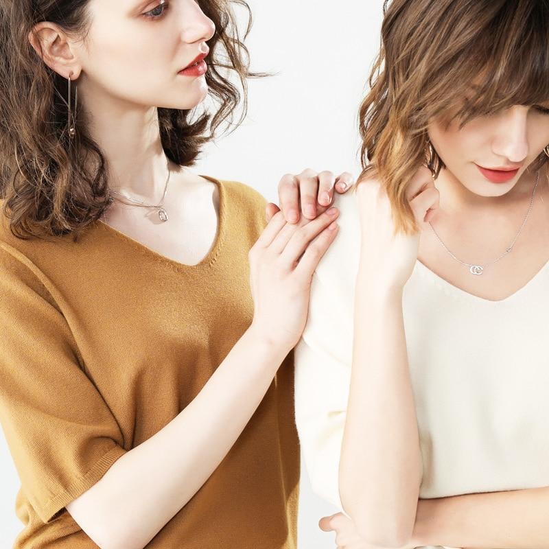 11 Farbe Mode Pullover Sieben-viertel Hülse Feste Cashmere Pullover V Kragen Pullover Frauen Komfortable Bodenbildung Pullover 1901 Angenehm Zu Schmecken