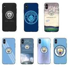 fd8d944dc34 RKQ Football Manchester City for Apple iPhone 5 5s 6 6s 7 8 Plus X XR XS XS  MAX