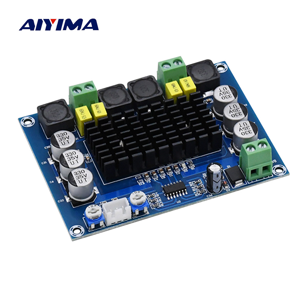 AIYIMA TPA3116 Dual-channel Stereo High Power Digitale Audio Eindversterker Board TPA3116D2 Versterkers 2 * 120 W Amplificador DIY