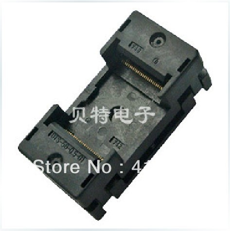 Importing IC block adapter TSOP56 OTS-56-0.5-01 test writers, adapter importing ic qfp32 programming block sa663 block burning test socket adapter convert