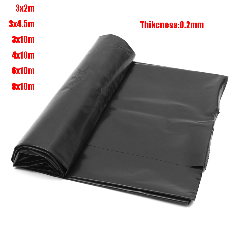 Top Quality Fish Pond Liner Garden Pools Reinforced HDPE Heavy Duty Professional Landscaping Pool Waterproof Liner Cloth 0.2mm