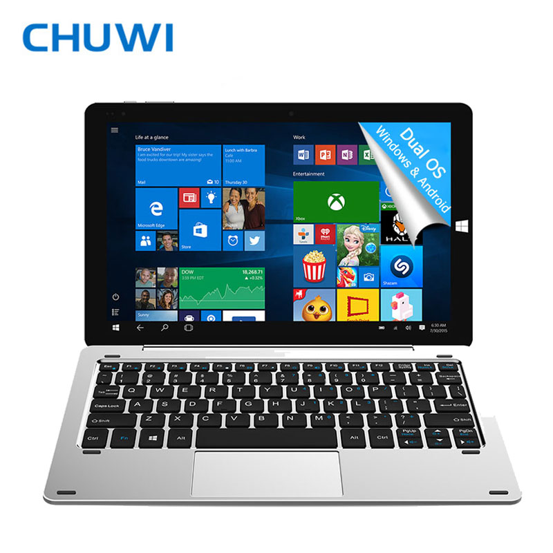 Prix pour D'origine 10.8 pouce chuwi hi10 plus tablet pc windows10 & android5.1 double OS Intel Cerise Sentier Z8350 Quad Core 4 GB RAM 64 GB ROM