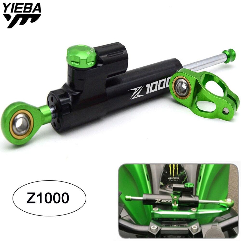 купить Universal Motorcycle Damper Steering Stabilize Safety Control For KAWASAKI Z1000 Z 1000 03-16 Z1000SX/NINJA 1000/Tourer 11-18 по цене 2651.22 рублей