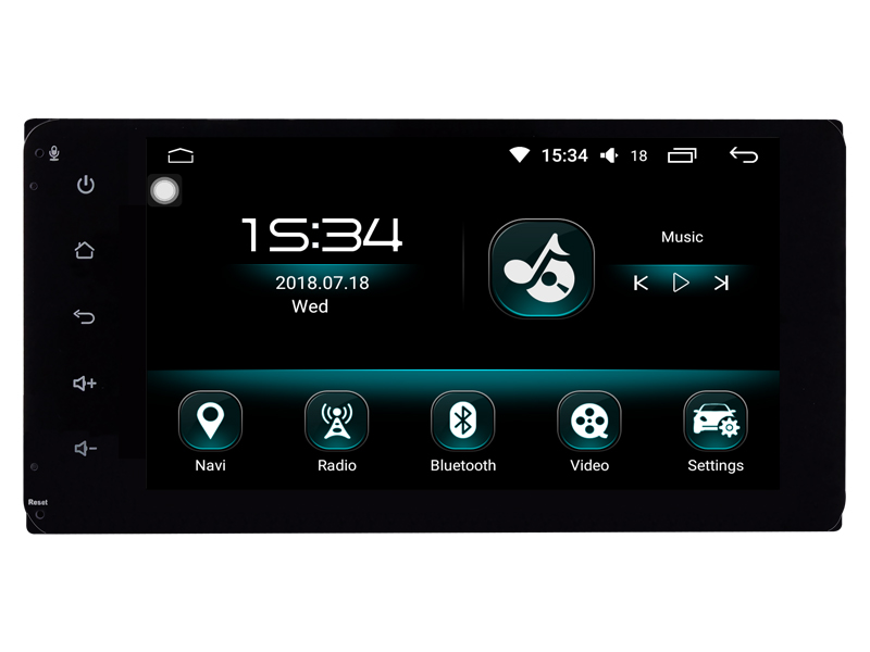 For toyota corolla verso camry prado lc120 lc150 lc200 vios 4runner 200*100mm Android 8.0 car radio multimedia gps accessories