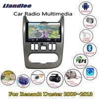 Liandlee 8 HD touch для Renault Duster 2009 ~ 2013 автомобильный радиоприемник для Android плеер с gps навигатором Nav карты медиа OBD камера ТВ без CD DVD