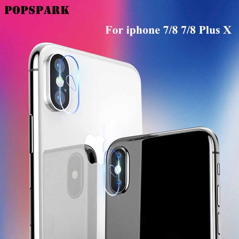 עבור iphone 8 בתוספת מזג זכוכית מצלמה עדשת מגן עבור iphone 7 8 בתוספת X נגד שריטות Dustproof מגן FilmGHMY