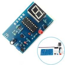 DIY Kit CD4511BE Digital LED Tester Meter Logic Pen Kit for Sensor Amplifier DC Gain Electronic DIY Kit IC Tester DIY Electronic