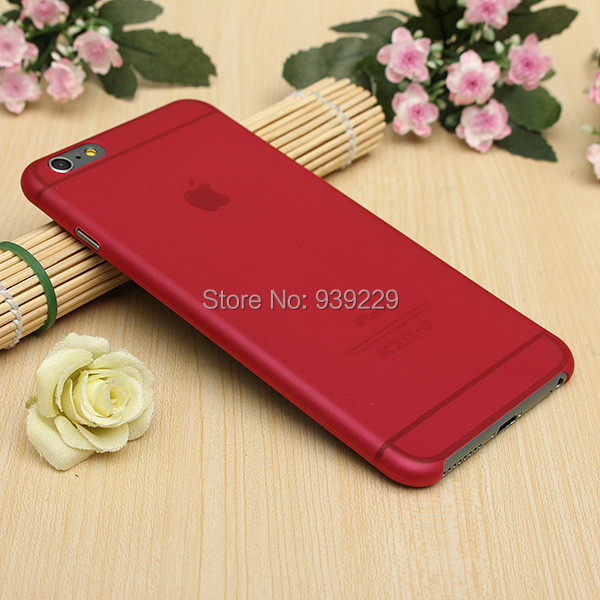 Ultra Slim Thin 0.2mm Clear iPhone 6 Plus / 6s 5.5 inch Crystal TPU Matte Hard Case Cover Back Skin Shell Pouch - Alidwantop Technology CO., LTD store