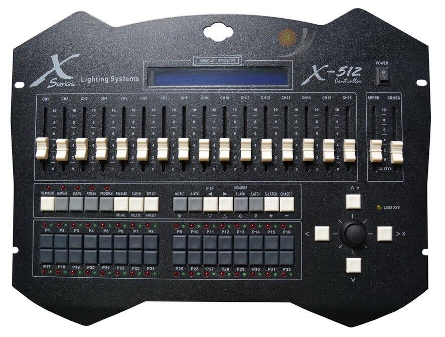 YX-1310 X-512A Console DJ contrôleur dmx contrôleur stade lumières dmx console professionnelle