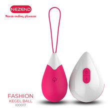 NEZEND 10 Frequency Wireless Control Jump Eggs Powerful Waterproof G-spot Vagina Massager Vibrator for Women Sex Toys
