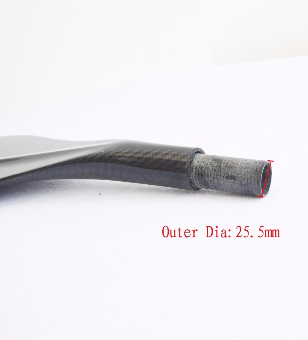 Darmowa wysyłka Carbon Fiber Sup Board Paddle Blade Black 3K Carbon - Sporty wodne - Zdjęcie 4