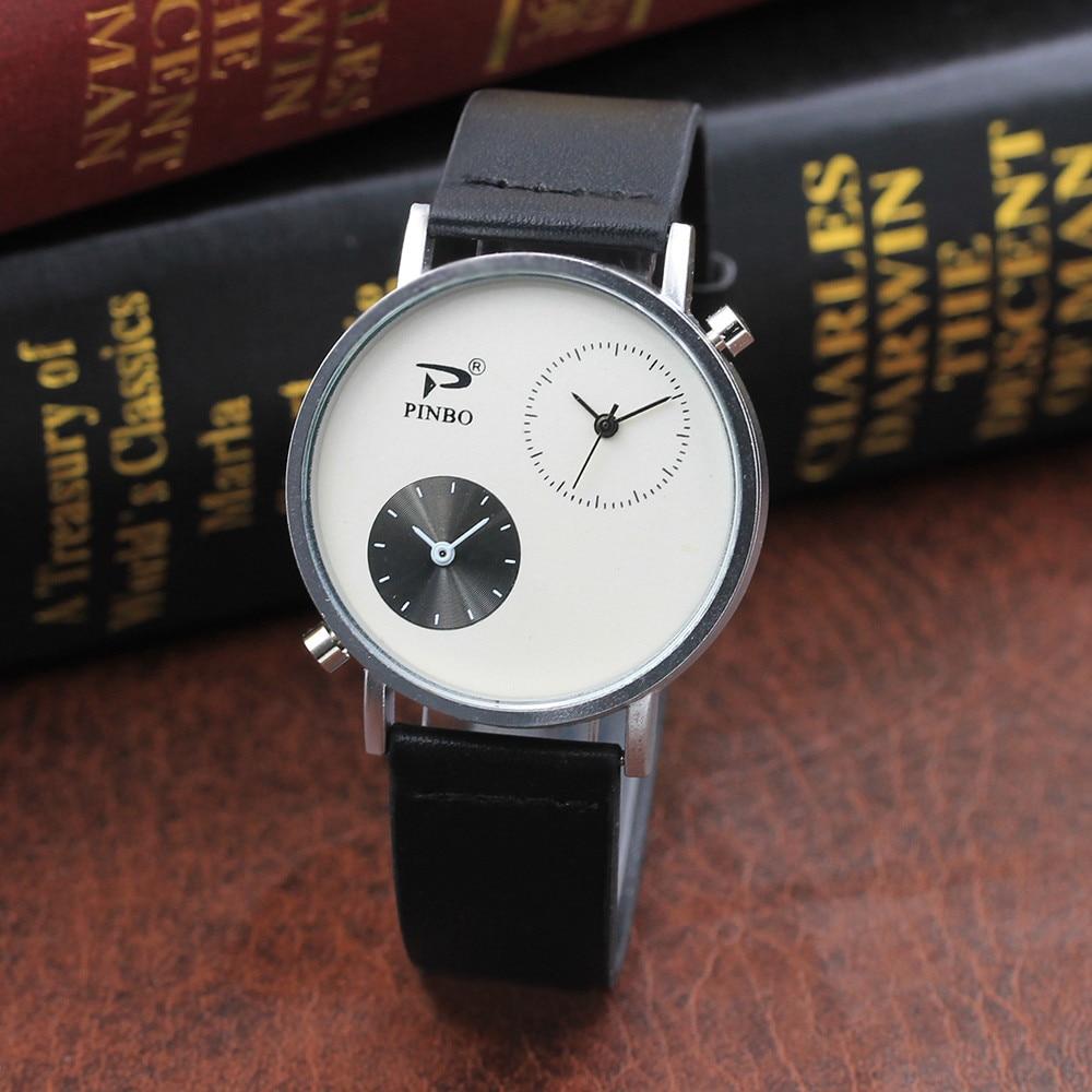 Wrist Watches Watches Men top brand luxury man watch big size quartz relogios masculinos de luxo original Digital Dial Leather