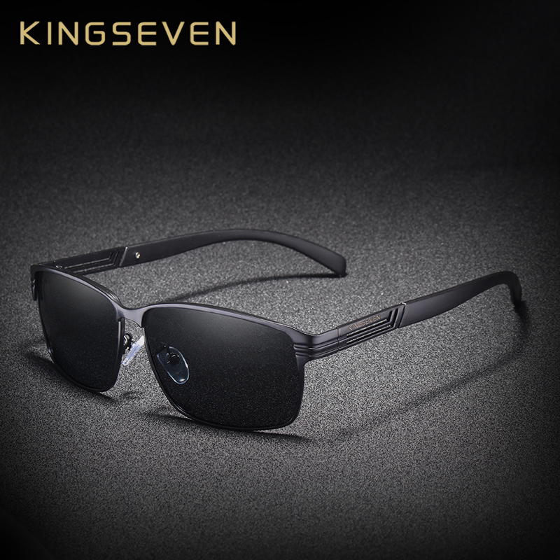 736c23bdf2 KINGSEVEN BRAND DESIGN Classic Polarized Sunglasses Men Driving Sun glasses  Goggles UV400 Gafas Oculos De Sol-in Sunglasses from Apparel Accessories on  ...