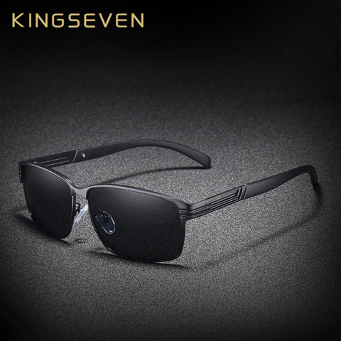 KINGSEVEN BRAND DESIGN Classic Polarized Sunglasses Men Driving Sun glasses Goggles UV400 Gafas Oculos De Sol Pakistan