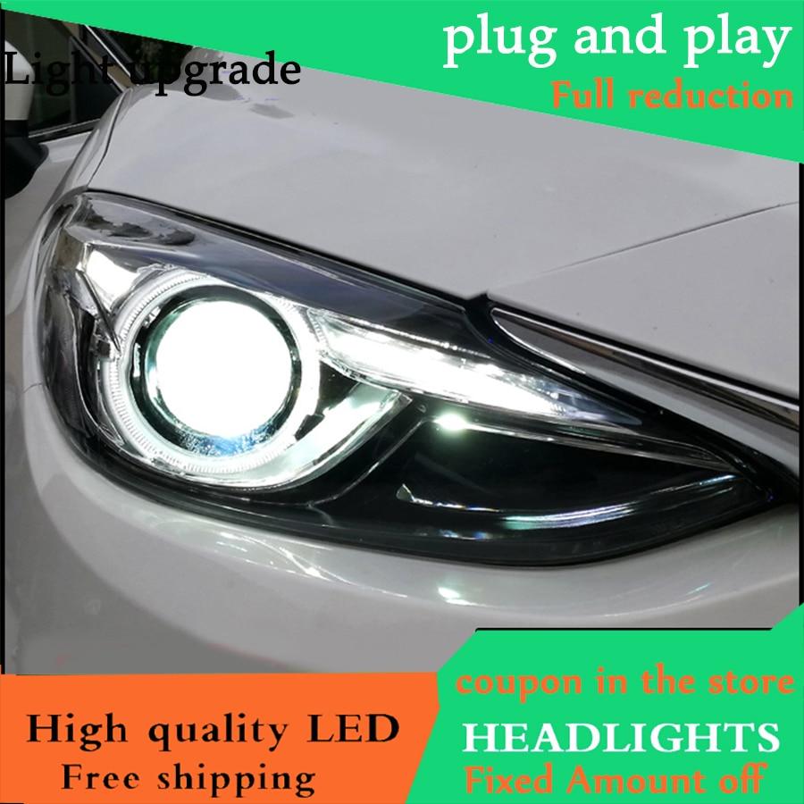 Projector Cob LED Fog DRL Spot Lights Angel Eyes Fits Mitsubishi GTO FTO COLT