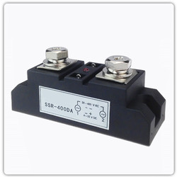 400A Solid State Relay Input DC 4~32VDC Load AC 40~480VAC SSR-400DA