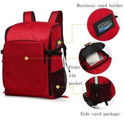 Outdoor Ehbo-kit Grote Capaciteit Sport Rode Nylon Waterdichte Cross Messenger Bag Familie Reizen Emergency Medische Zak DJJB022