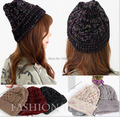 2016 Rushed Solid Adult Unisex Cotton Mask New Womens Beanies Skullies Winter Hats For Knitted Caps Ski Cap Warm Lady Casual